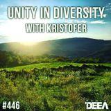 Kristofer - Unity in Diversity 446 @ Radio DEEA (29-07-2017)