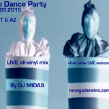 Retro Dance Party 10.03.2015 LIVE on Renegade Retro <renegaderetro.com>