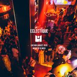 Eclectique Live Mix August, 2019 by DJ MIYU @ Harlem, Shibuya