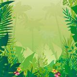 Deep step into the jungle