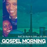 Founders of Gospel Cafe Collin & Lorena Williams on Gospel Morning - Sunday February 24 2019