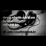 Deep South African House mixed by DJ Adrenalinjunkie