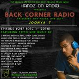 BACK CORNER RADIO: Episode #247 (Dec 1st 2016)