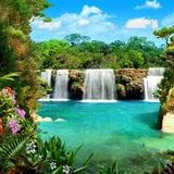 A Soulful Waterfall(San Miguel In Motion Mix)