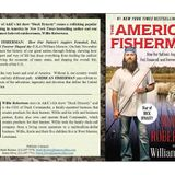 Duck Dynasty's Willie Robertson, Author of THE AMERICAN FISHERMAN