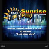 "Dj Genesis ""Good Vibes Show' Sunrise fm 23-03-18"