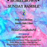 Homegrown Sunday Ramble #29:Tribute to Johnny Winter, New Parker Millsap and Harry Nagle 7/20/14
