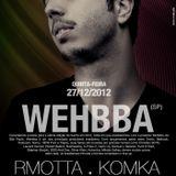 Wehbba - Live @ 5uinto Brasilia (Brazil) 2012.12.27.