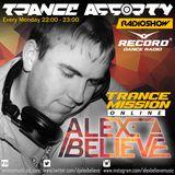 Alex BELIEVE - Trance Assorty Show on Radio Record №007