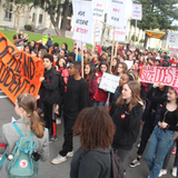 HKR-02-13-19 Oakland Student Strike and Intv w/ David Roach on Education