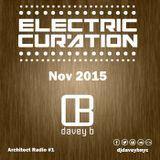 Electric Curation November 2015 (Architect Radio #1)