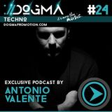Antonio Valente – Dogma Techno Podcast [DOGMA PROMOTION ibiza]