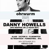 Ohrwurm feat. Victor G & Alam (warmup for Danny Howells) @ Vertigo KL - 28 Sep 2012