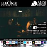 Electrik Playground 14/11/15 : NVOY Guest Session
