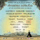 Hippie Tipi & Puzzle Effect-Psychedelic Hannukah-Road 101 - 08.12.18