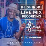 Dj Shinski Live at Blend Kenya with MC Jose Part 1