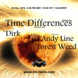 Andy Line - Guest Mix - Time Differences 239 (4th December 2016) on TM-Radio