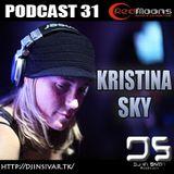 DS (DJ IN SIVAR) PODCAST 31 - KRISTINA SKY