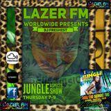 lazer fm worldwide jungle aspects show on a dark tip