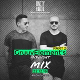 GruuvElement's , With Jamal H & Jermaine Lee, Midnight Mix [Part 2] [2016 12 22]