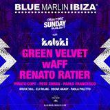 Green Velvet - Live @ Sunday with Kaluki (Blue Marlin, Ibiza) - 04-06-2017