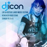 DJ ICON Live at Outside Lands: Heineken House Dome 08.09.15
