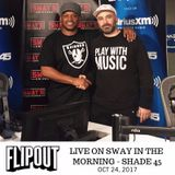 Sway In The Morning - DJ Flipout 10-24-17 (Mix+Interview)