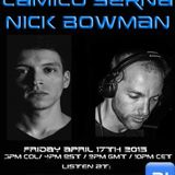 The Future Underground Show With Camilo Serna And Nick Bowman - April 17th 2015