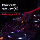 Feexed Mix episode #002 Part 2 (February 2013 TOP 5)