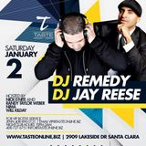 The Hecklers  - Jay Reese & DJ Remedy - Live At Taste 01.02.16