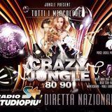 """Party On The Road - Jungle Bar """"Crazy Jungle 80/90"""" - 29.01.14 - Diretta Radio Studio Più"""