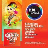 Alex M.O.R.P.H. – Live @ Pure Trance (Monday Bar) – 29-AUG-2014