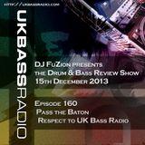 Ep. 160 - Pass the Baton, A toast to UK Bass Radio