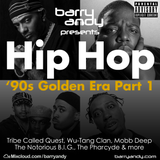 #TheThrowbackMix - Hip Hop '90s Golden Era Part 1