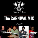 Carnival Mix #190 - Soca Radio Show - Feb 2015