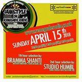 Jamstyle On Renegade Radio (April 2018) | Bramma Shanti | Studio Humble
