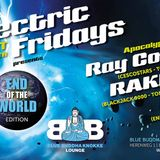 Ray Cosmo @ Electric Fridays - The apocalypse (Blue Buddha Bar Knokke - august '14)