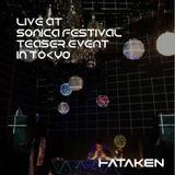 """Hataken - live at """"Sonica fes. 2017"""" teaser in Tokyo"""