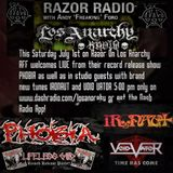 Phobia and Ironaut on Razor On Los Anarchy!