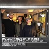 NTS 11/3/2015 w/ Special Guests Mount Bank & Wriggly Scott
