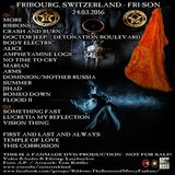 The Sisters of Mercy @ Fri-son, Fribourg, Swiss, 24.03.216 (Lasyboylive)