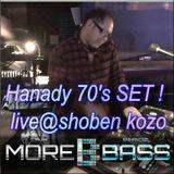 Hanady mar 70s SET live @ shoben-kozo
