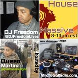 DJ Freedom's House Massive: Saturday Special (MixToGoRadio.com) Classic Pitch Workout
