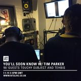 NTS 7/1/2015 w/ Special Guests Tehbis & Touchy Subject