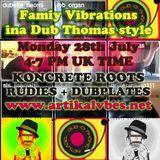 Dubophonic Vibrations / Koncrete Roots showcase / 28th July 2014