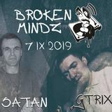 Broken Mindz Radio feat. GTrix & Satan