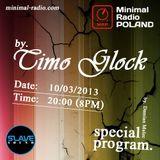 Timo Glock - Special Program @ Minimal Radio Poland (10.03.2013)