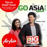 Go Asia Plus Episode 2, Adrian and Aishah talk about Indonesia and diving spots that is a Mecca.