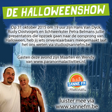 31 oktober 2015 | De Halloweenshow | Deel 2 | 20:00 tot 21:00 uur