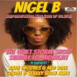 NIGEL B's RADIO SHOW (SUNDAY 17TH DECEMBER 2017)